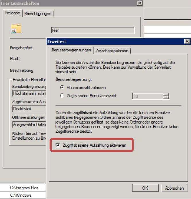 Best Practice für Berechtigungsvergabe auf Fileservern
