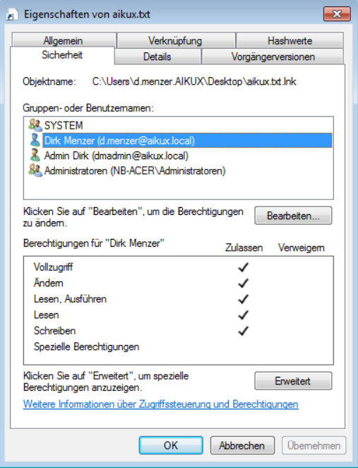 Best Practice for Authorization on File Servers> aikux com